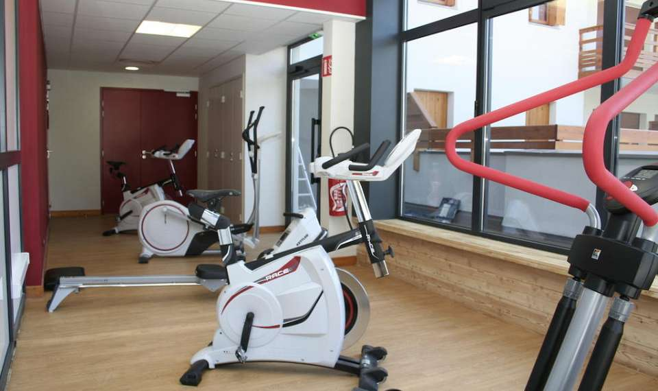 Serre Chevalier Nemea LAigle Bleu fitness center