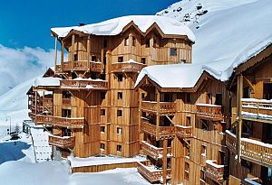 Val Thorens Chalet Altitude Balcons predel